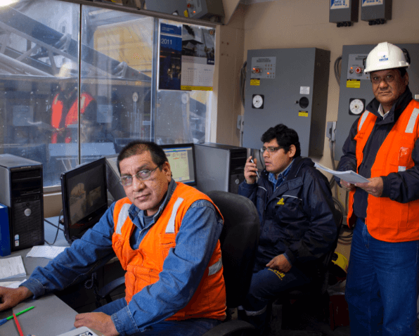nuestro equipo en la planta de San Juan
