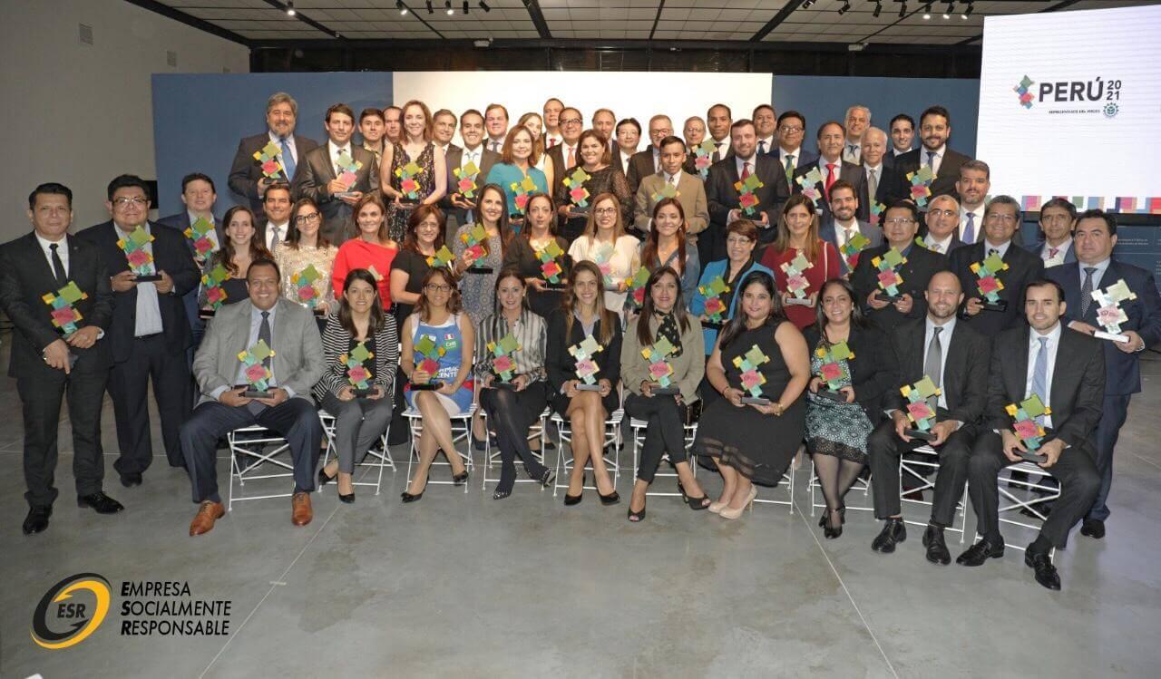 "Perú 2021 otorgó a UNICON el distintivo ""Empresa Socialmente Responsable 2018"""