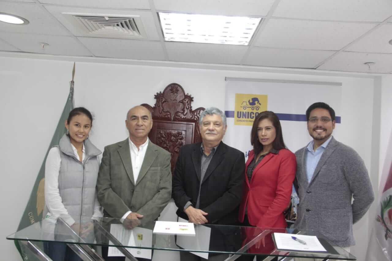 UNICON firma pacto por la movilidad urbana sostenible con la municipalidad de San Isidro