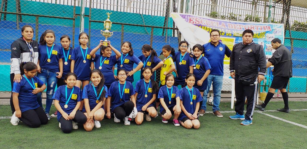 """Campeonato Clausura del Ciclo Regular I de la «Escuela Deportiva de Fútbol y Voley UNICON"""""""