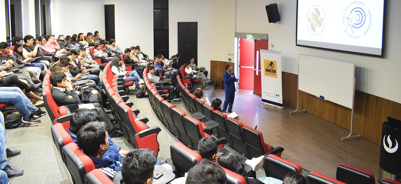 Embajadores de marca: participamos en el conversatorio de graduandos de Ingeniería Civil de la UPC